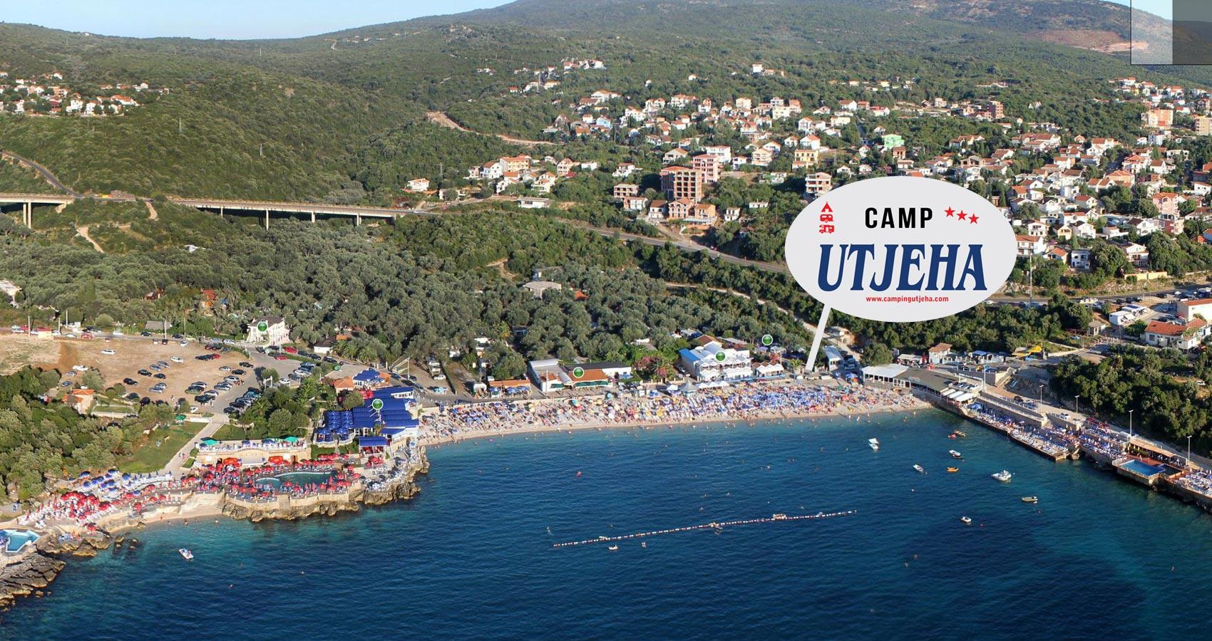 Auto Kamp Utjeha Camping Utjeha Camping Montenegro Kamping